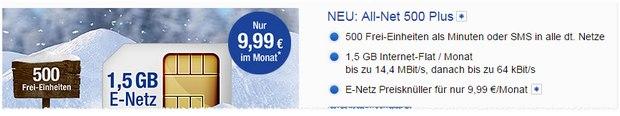 GMX Handytarif All-Net 500 Plus