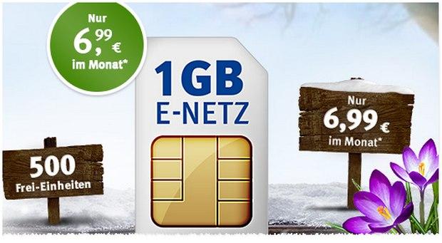 1&1 All-Net Flat 300 für 6,99 Euro