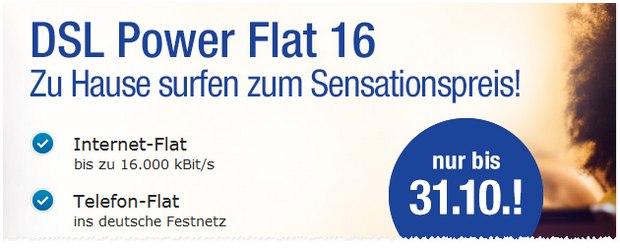 GMX DSL Power-Flat: Aktion von 1&1 DSL über GMX.DE