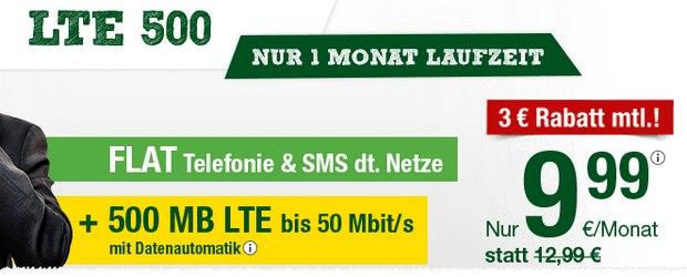 Heino Handytarif aus der Werbung für 9,99 €: smartmobil LTE 500 als Allnet-Flat unter 10 Euro