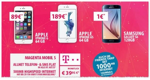 Telekom Magenta Mobil S mit Top-Smartphones zum Handyvertrag