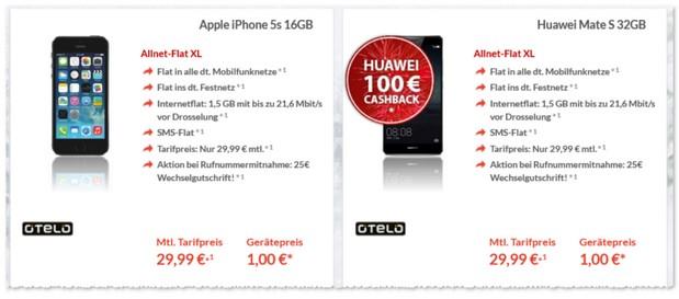 Otelo XL Handyvertrag
