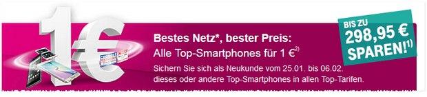 Telekom 1-Euro-Aktion aus der Werbung