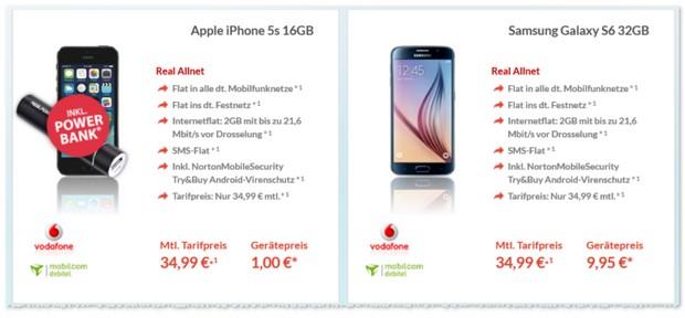 Vodafone Real Allnet Tarif