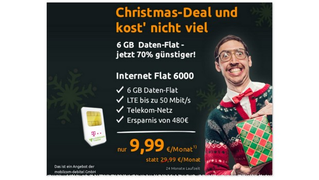 Crash-Tarife Christmas-Deal