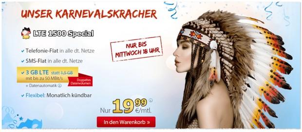 DeutschlandSIM LTE 1500