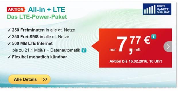 HelloMobil All-in + LTE