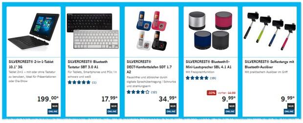 LIDL Technik-Angebote ab 13.6.2016