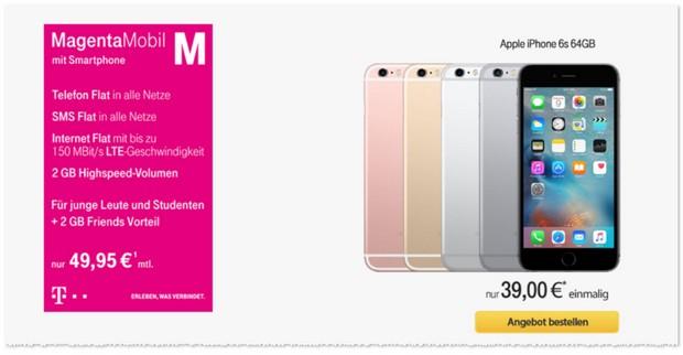 Telekom Magenta Mobil M Handyvertrag