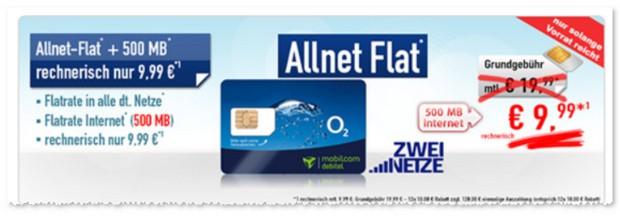 o2 Comfort Allnet-Flat