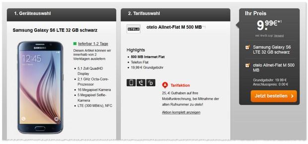 otelo M Allnet Flat mit Handy