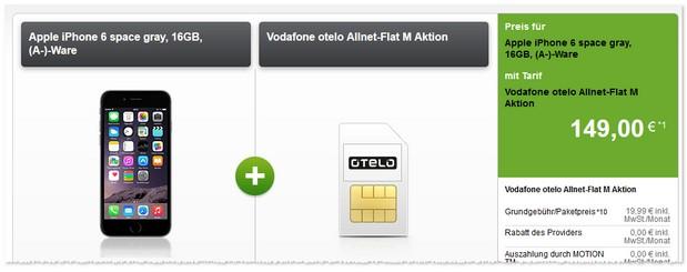 otelo M mit Handy bei Modeo