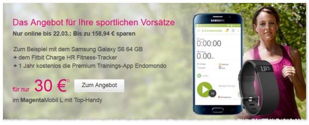 Telekom Werbung Fitnesswochen