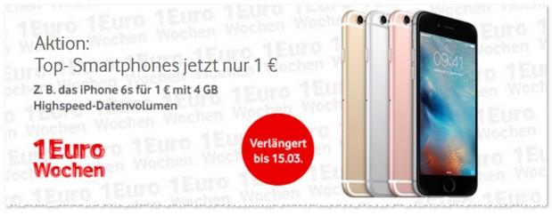 Vodafone 1 Euro Wochen Werbung