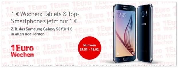 Vodafone 1 Euro Wochen aus der Werbung