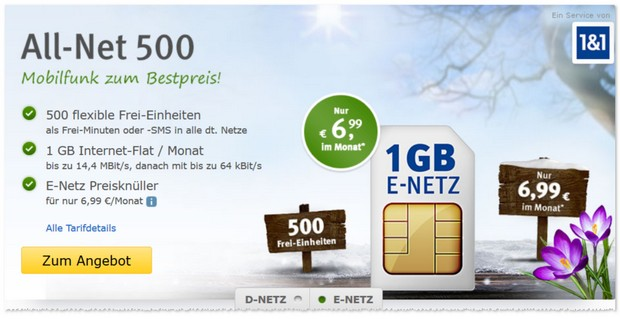 WEB.DE All-Net 500