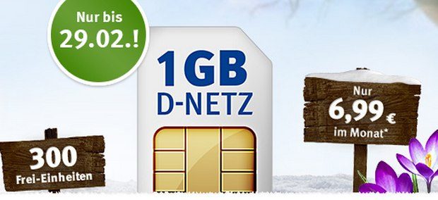 WEB.DE Handytarif 1&1 All-Net 300