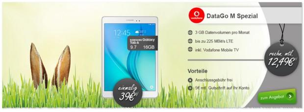 3GB D2 Internet-Flat mit LTE-Speed bei Modeo für effektiv 12,49 €
