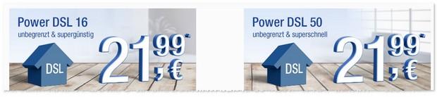 GMX DSL Tarif Power DSL 50