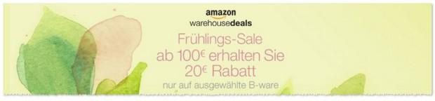 Amazon Warehousedeals Gutschein - auch für Handys und Smartphones