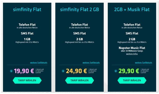 Simfinity Flats