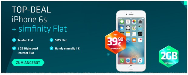 Simfinity Top-Deal