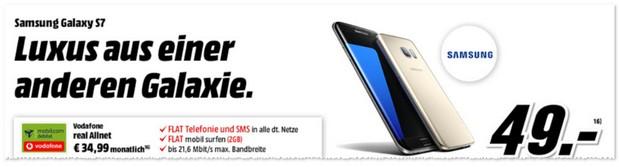 Vodafone Real Allnet als Samsung Galaxy S7 Vertrag