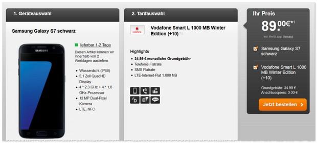 Vodafone Smart L + Samsung Galaxy S7