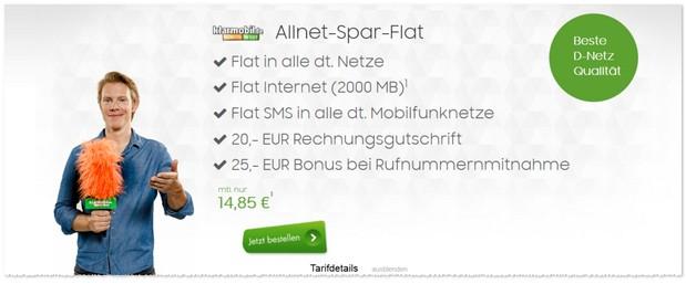 Klarmobil D2 Allnet Flat
