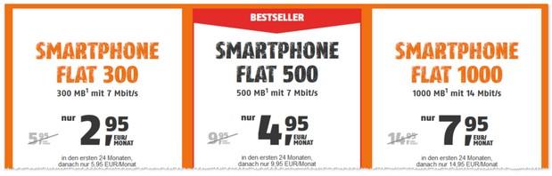 Klarmobil Smart Flat 300