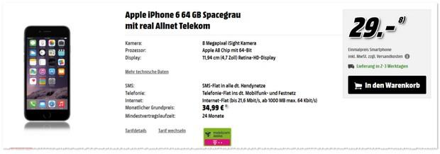 Telekom Real Allnet Handyvertrag
