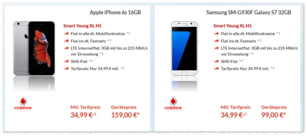 Vodafone Smart Young XL Handyvertrag