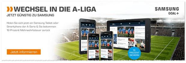 Mit den Samsung Wechselwochen in die A-Liga