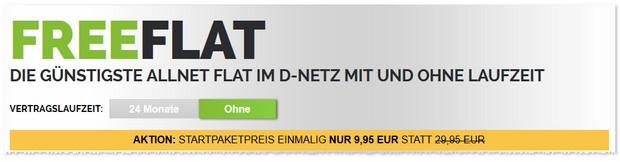 Freenet Allnet Flat - Startpaketpreis reduziert