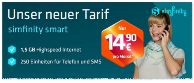 simfinity Smart Tarif
