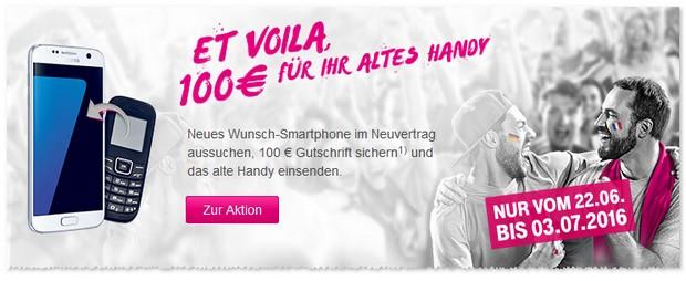 Telekom Alt-gegen-Neu EM-Aktion