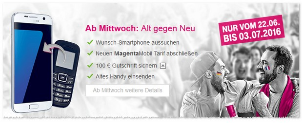 Telekom Alt-gegen-Neu Aktion
