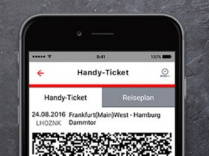 Bahn Handy-Ticket