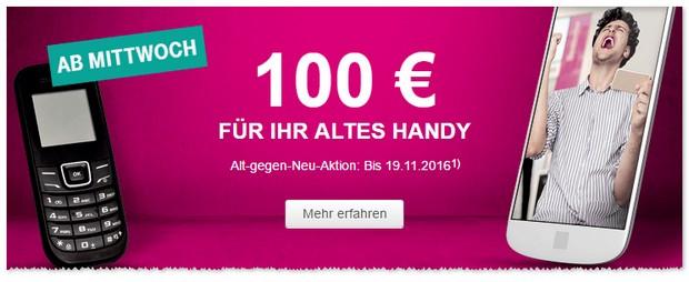 Telekom Alt-gegen-Neu Aktion im November 2016