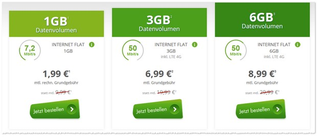 1GB D1 Internet-Flat von mobilcom-debitel