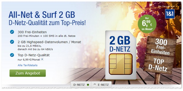 GMX-Handytarif-Angebote im Oktober 2016