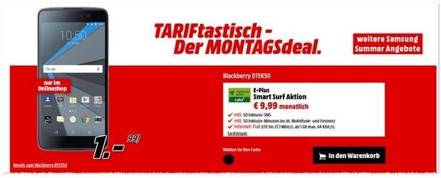 Media Markt TARIFtastisch Montagsdeal ab 26.9.2016