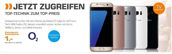 Saturn-Angebot ab 17.10.2016 mit Samsung Galaxy S7 edge für 1 Euro