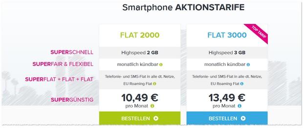 Tarifhaus Allnet-Flat Aktionstarife