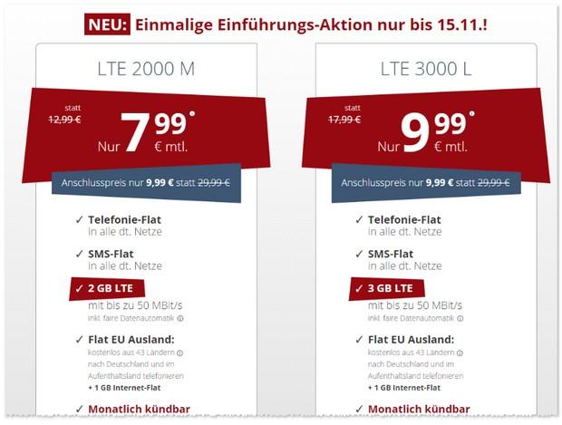 PremiumSIM Handytarife mit LTE