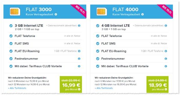 Tarifhaus Allnet-Flat Angeboten