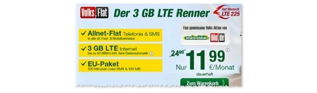 Volks-Flat als LTE-Renner