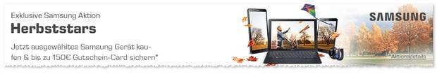 Samsung Herbststars Aktion auch bei Saturn und Amazon