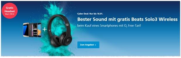 o2 Cyber-Deals ab Freitag (13.1.2017)