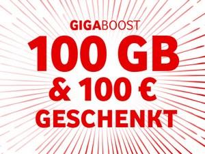 Vodafone GigaBoost-Aktion